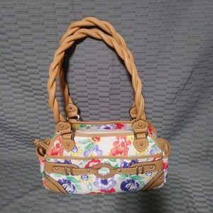 Rosetti flowered purse